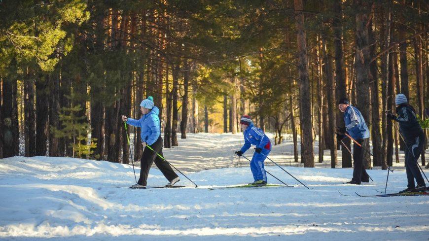 Лыжные прогулки по Кумысной поляне