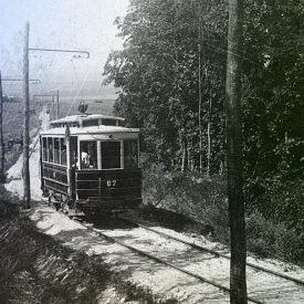 Трамвай на Кумысной поляне