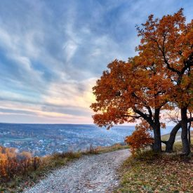 Осень у Пика пионеров. Кумысная поляна
