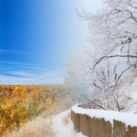 Кумысная поляна осень-зима