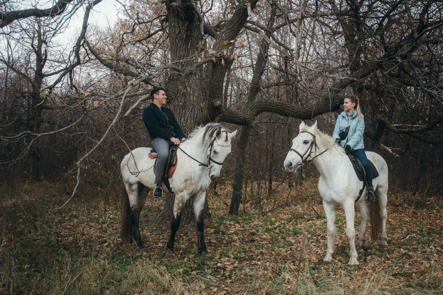 Конные прогулки по Кумысной поляне вдвоём