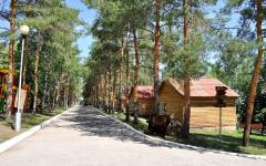 Турбаза Авангард летние домики