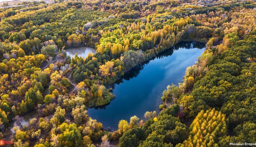 Озеро Пионерское на Тинь-Зине