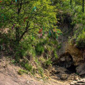 Вход в Кудеярову пещеру