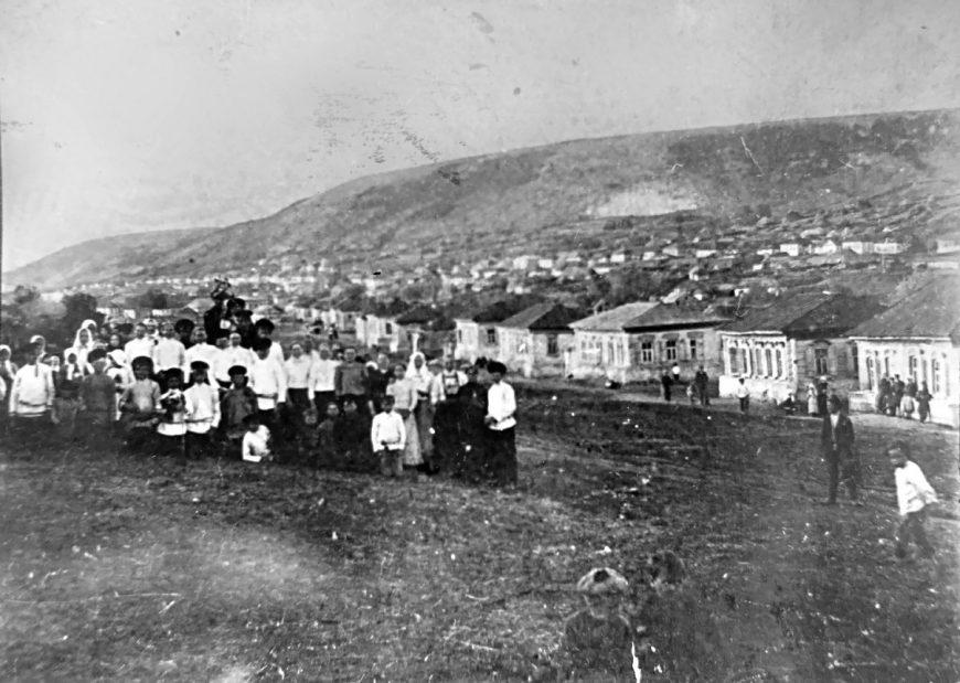 Село Лох начала 20 века