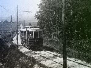 Бывший трамвай на Кумысную поляну